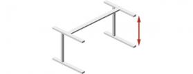 Höhenverstellbare Tischgestelle