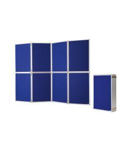 Präsentationswand / Raumteiler zusammenklappbar