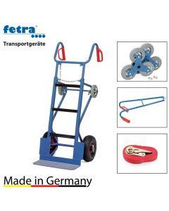 Gerätekarre 400 kg Tragkraft inkl. Treppenstern, Tragholm und Spanngurt