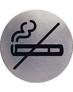 """Durable Piktogramm Picto """"Rauchen verboten"""" 4911-23 silber"""