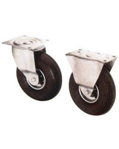 Lenk- und Bockrollen mit Lufträdern
