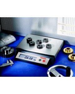 Tischwaage elektronisch 0-6 kg, spritzwassergeschützt