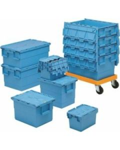 Transportwagen für Drehstapelbehälter Integra 600x400 mm