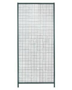 Wand-Element 500mm grau Trennw.-Syst.
