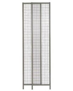 Element 550-950mm grau Trennw.-Syst.