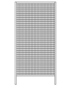 Wandelement 980x2000 mm zinkgelb RAL 1018