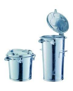 Mülleimer mit / ohne Bügel  35- 110 Liter feuerverzinkt