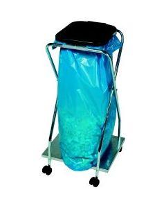 Abfallsammler 70 Liter fahrbar mit Deckel