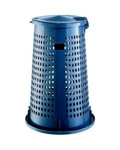 Abfallsammler Korb  grau (70-120-Liter-Säcke)