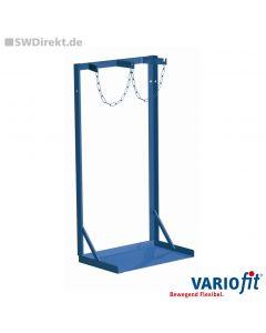 Stahlflaschenständer für 2x40-50 Liter