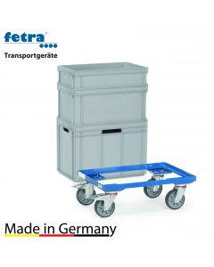 Euro-Kastenroller 250 kg Tragkraft, Ladefläche 605x405 mm