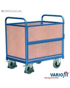 Holzkastenwagen 500 kg Tragkraft