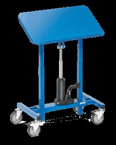 Materialständer mit Hydraulikpumpe