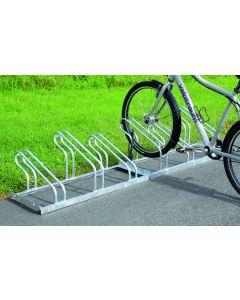 Fahrradparker Modell 2000, zweiseitige Radeinstellung