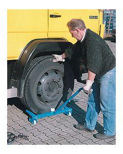 Reifenmontierer fahrbar mit höheneinstellbarer Griffstange