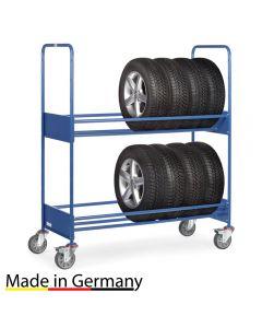 Reifenwagen mit 2 Ladeflächen