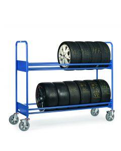 Reifenwagen 500 kg für hohe Beanspruchung