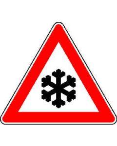 """Verkehrszeichen Nr. 113 """"Schnee- oder Eisglätte"""""""
