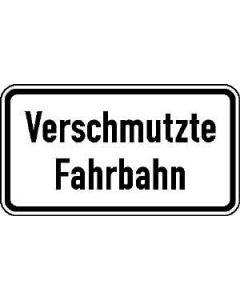 "Verkehrszeichen Nr. 1006-35 ""Verschmutzte Fahrbahn"""