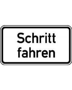 """Verkehrszeichen Nr. 3126 """"Schritt fahren"""""""