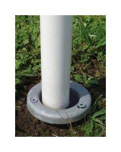 Schraubfundament für Fahnenmasten bis 75 mm inkl. Montage