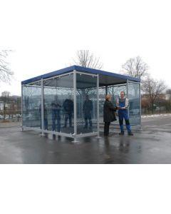 Raucher- / Kommunikationsraum Modellreihe Köln - Keramik-Siebdruck