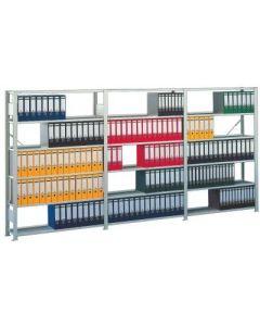 Steckregal COMPACT Grundfeld  2200x1000x300 mm grau
