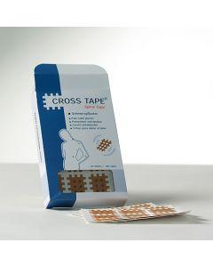 Original Kinesio Cross Tape®- Spiral Tape - Gitterpflaster - Schmerzpflaster VE=180 Tapes (Profiqualität)