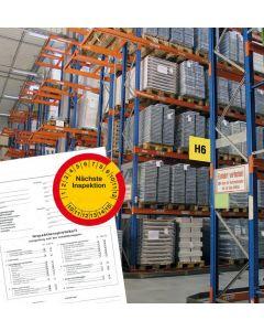 Regalinspektion - Regalprüfung nach DIN EN 15635 durch Regalinspekteur