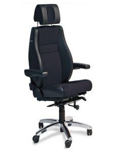 24-Stunden-Stuhl / Leitstellenstuhl mit Flip UP Armlehnen, bma Basic Exklusive