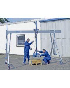 Aluminium-Portalkran, fahrbar (Tragkraft 1000 - 1500 kg)