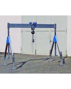Aluminium-Portalkran, klappbar (Tragkraft 1000 - 1500 kg)