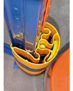 Regal-Anfahrschutz (Vollschutzhöhe 400 mm)