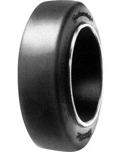 Vollgummi-Elastic-Bandage für nicht angetriebene/gebremste Radpositionen, Ø 160 mm, 250 kg