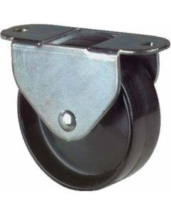 Kastenrolle Bauhöhe 49 mm, Ø 45 mm, 55kg Tragkraft
