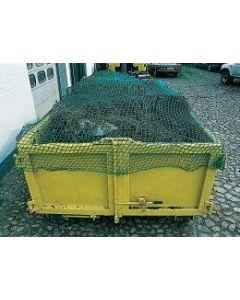 Abdecknetz für Container