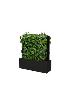Mobile Pflanzenwände Höhe 1310 mm, schwarz-grau