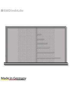 Schubladen-Querteiler für Kastenwerkbänke VX, Fachhöhe 60 mm