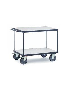 ESD-Tischwagen mit 2 Böden bis 600 kg