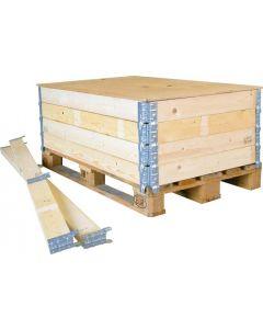 Holzaufsatzrahmen für Paletten 1200x800x200 mm