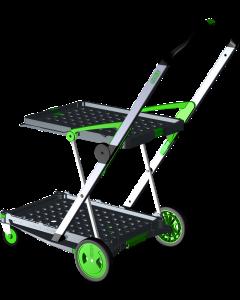 Transport-Klappmobil Clax Green Edition ohne Faltbox - IHR Einkaufswagen