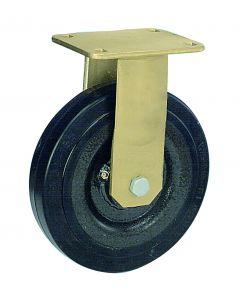 Schwerlast-Bockrolle in Stahlschweißkonstruktion Ø 200 mm 450 kg