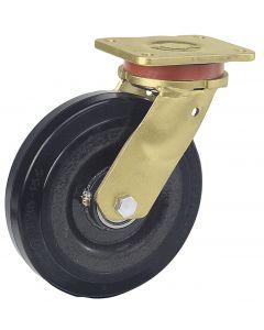 Schwerlast-Lenkrolle in Stahlschweißkonstruktion Ø 200 mm 600 kg