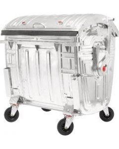 Müllcontainer 1100 Liter, feuerverzinkt