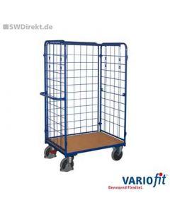 Paket-Dreiwandwagen hoch, 500 kg Tragkraft