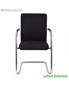 Konferenzstuhl SW Visit Style Swing mit Stoffbezug