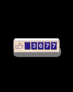 "Facebook ""Like"" Counter"