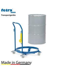 Fassroller mit Bügel für 60 und 200 Liter Fässer, 250 kg Tragkraft