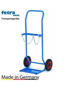 Stahlflaschenkarre für 2x10 Liter, 50 kg Tragkraft