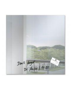 sigel Glas-Magnetboard / Magnettafel artverum® Spiegel 48x48 cm